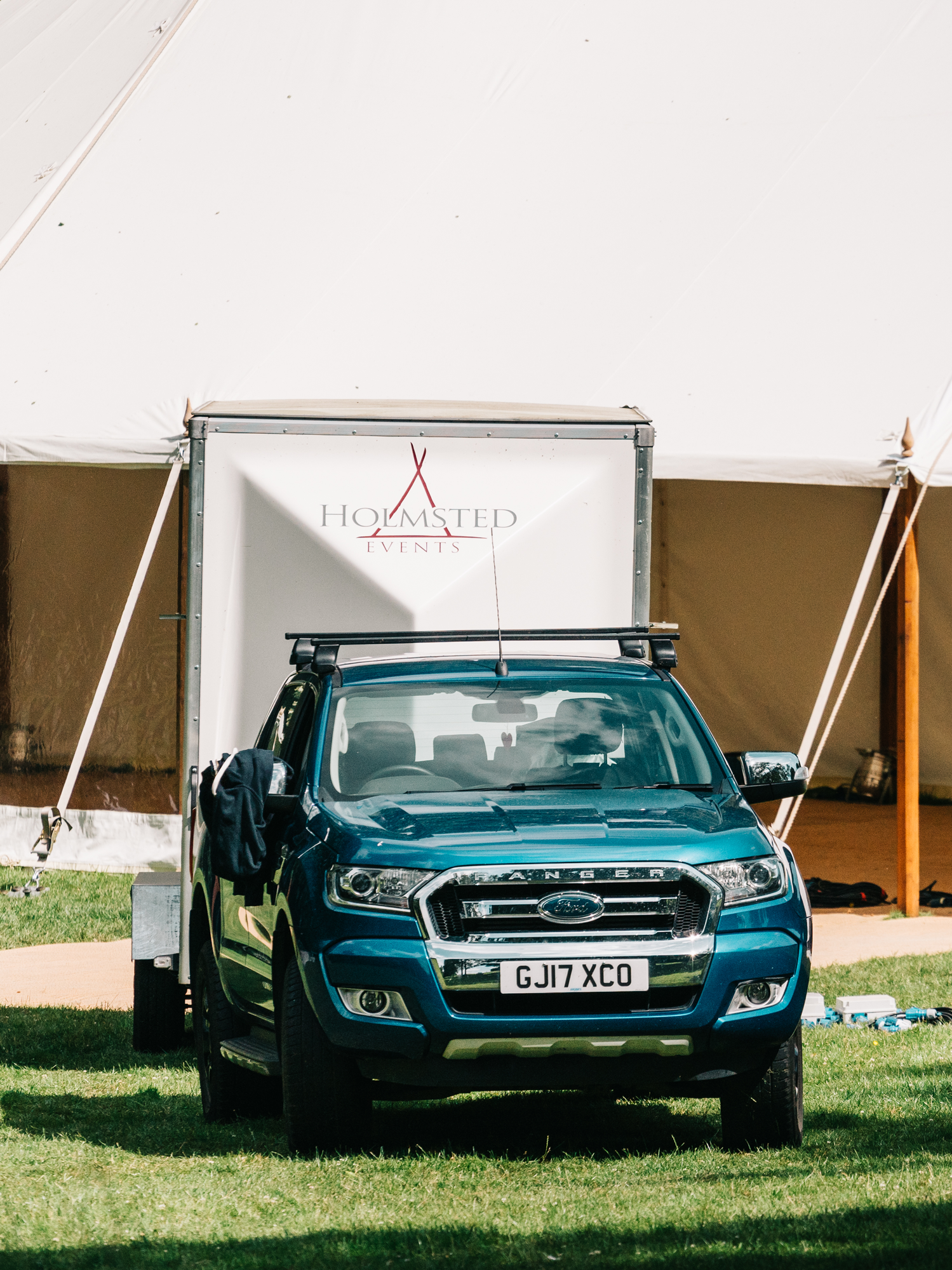 Holmsted Events service vehicle
